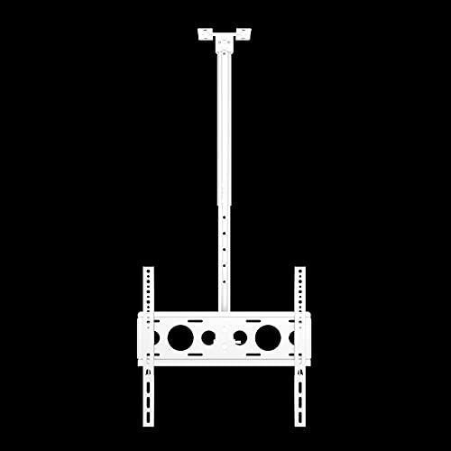 Soporte para TV De Techo con Rotación De 360 ° De Movimiento Completo, Se Adapta A La Mayoría De Pantallas LED De 26-50 Pulgadas, con Carga De 110 Libras, Color Blanco (Size : 2m)