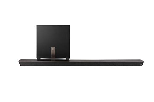 Definitive Technology Studio Slim 3.1 Channel Sound Bar with 7 Speakers and an 8' Wireless Subwoofer - 3.1 Channel 2019 Model | Built-in Chromecast, Bluetooth | HDMI ARC | Dolby Surround and DTS