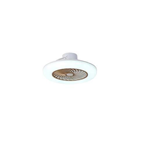 HLD slaapkamerventilator, verlicht plafond, geïntegreerde bladloze stille directe transmissie plafondventilator licht