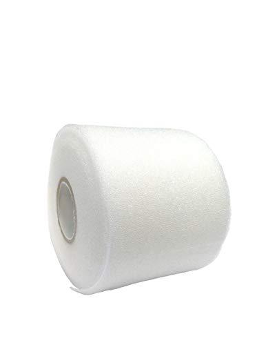 Mixed Colors Bulk Prewrap for Athletic Tape - 1 Roll PRE-WRAP, White