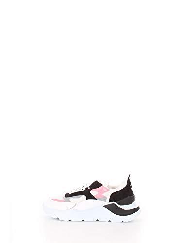 D.A.T.E. Scarpe Donna Fuga NETKI W321-FG-NK-WP White Pink PE20 39