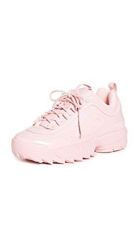 Fila Women's Disruptor II Heart Sneakers, Pink, 7.5 Medium US