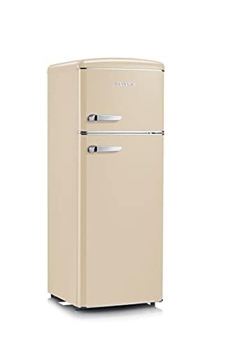 Severin RKG 8933 réfrigérateur-congélateur Autoportante 206 L E Crème