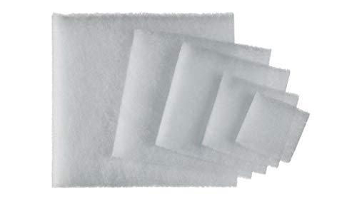 BFS FILTERS ® Filtro universale 4 x per cappe aspiranti – Filtro di grasso e polvere adatto per tutti i modelli di cappe – Tagliabile su misura