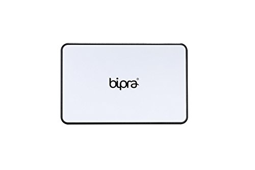 BIPRA USB 3.0 Tool Free External Caddy/Enclosure For 2.5' Laptop SATA Hard Drive. USB Bus Powered (USB 3.0 WHITE Tool free)