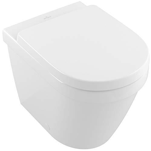 Villeroy & Boch V&B Tiefspül-WC ARCHITECTURA spülrandlos, bodenstehend DF 370x540mm we C+