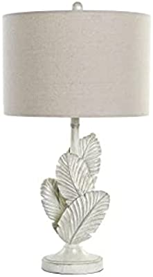 DT LA-180675 Table Lamp Resin and Polyester Feathers 38 x 38 x 72 cm