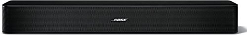 Bose Solo 5 TV Soundbar Sound System with Universal Remote Control, Black