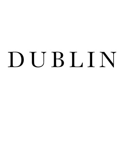 Dublin: Decorative stacking book for interior design styling | Accessorize your coffee table and book shelves | Combine different deco books for a unique look (Cities of the World)