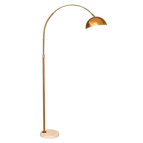 zdz 12w DIRIGIÓ Lámpara de pie, Metal Negro Brillante Control Remoto Moderno Moderno Timming Spoot Light, para Dormitorio, Sala de Estar (Color : Gold, tamaño : Type C)