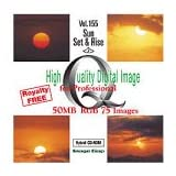 High Quality Digital Image Sun Rise & Set <2>