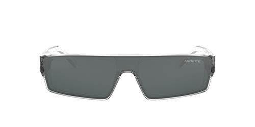 Arnette 0AN4268 Gafas, Cristal Transparente/Gris Claro Espejo Negro, 34 para Hombre