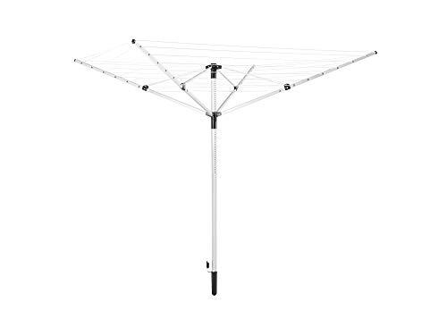Leifheit 85355 LinoPush 400-Tendedero Giratorio, 40m, Turquesa