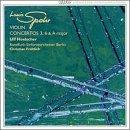 Violin Concertos 3,6 & A Major