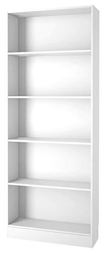 Kit Libreria Cm. 80x26x203h 71777-49 Bianca