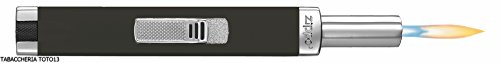 Zippo Mini MPL   Black Matte Gasfeuerzeug, Messing