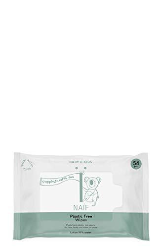 NAÏF Plastikfreie Babytücher Box 8, 430 g