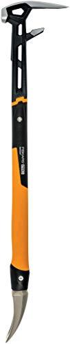 Fiskars Abbruchwerkzeug IsoCore L für eine Vielzahl von Abbrucharbeiten, Länge: 75,3 cm, Gewicht: 2,6 kg, Schwarz/Orange, 1027221