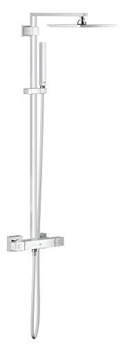 GROHE Euphoria System - Système de Douche Rectangulaire avec Thermostat Carré 230mm Réf. 26087000