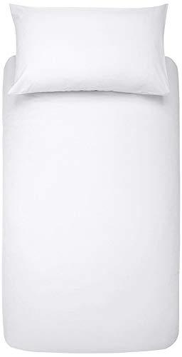 Bettdeckenbezug, anti-allergen, wasserabweisend, weiß, Einzelbett