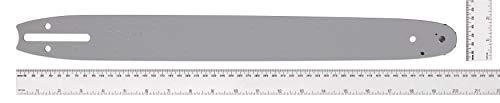 Universal 00057-76.143.48 Espada para motosierra, BRO048 Riel de guía para cadenas de sierra, longitud de 45 cm, buen control de corte, accesorios McCulloch, Standard