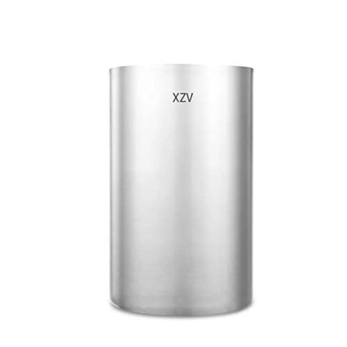 XZV Stainless steel double ice bucket high efficiency heat preservation mini ice bucket whisky refrigerated long ice bucket, size: 45 x 224.5 cm