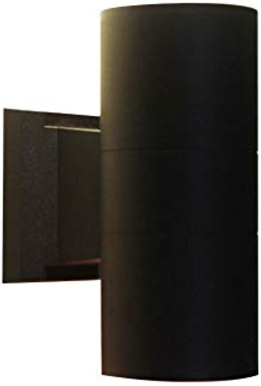 Wandleuchten Rauf Und Runter, Ip65 Outdoor Wandleuchte Wasserdicht Doppel-lichter Wandlampen Für Bett Treppen-h 30cm(11.8 In) D 14.5cm(5.7 In)-15w Weies Licht