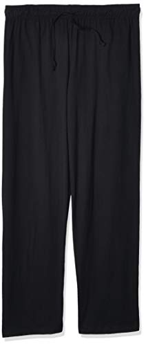 Champion Women's Plus-Size Jersey Pant, Black, 3X