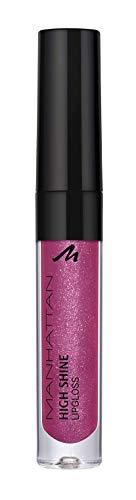 Manhattan High Shine Lipgloss, Glänzender Lipgloss für ein intensiv schimmerndes Finish auf den Lippen, In der Farbe 200