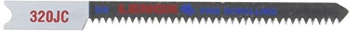 Lenox Tools 20333BT320JC U-Shank Bi-Metal Fine Scrolling Jig Saw Blade, 2-3/4-Inch x 3/16-Inch x 20 TPI, 2-Pack