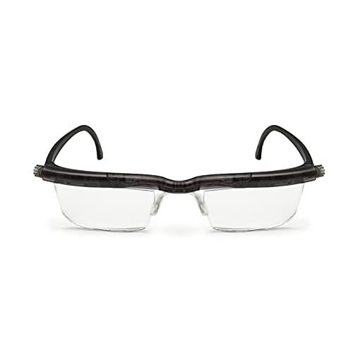 Focus Adjustable Eyeglasses Adlens Lens Reading Glasses +0.5D to +4D Far Sight Magnifying Reader