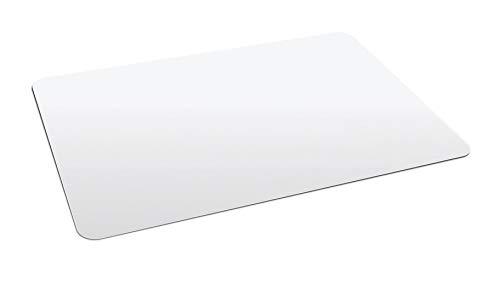 Best for Home Bodenschutzmatte Bürostuhlunterlage für Hartböden Parkett, Laminat, Fliesen (90 x 90 cm)