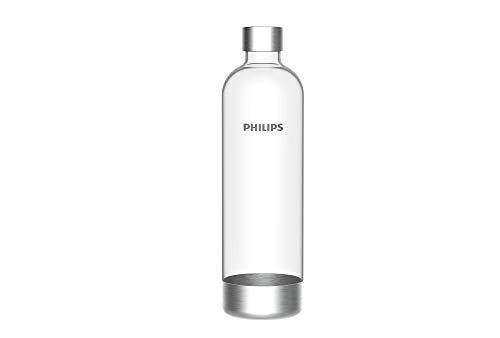 Philips GoZero ADD912/10 Bouteille d'eau pétillante sans BPA, 1 l, transparent