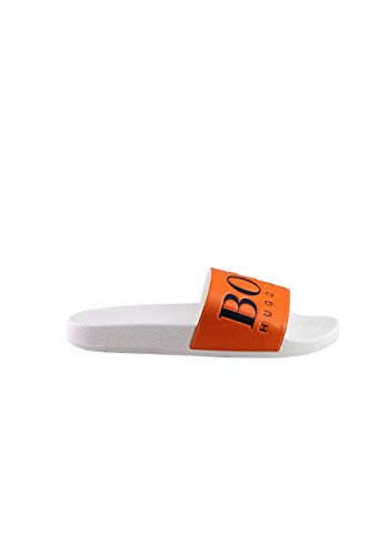 BOSS Sandale orange Größe 43