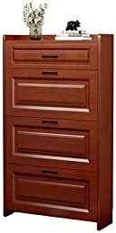 ZXCVBNM Wooden Shoe Arlington Mall Cabinet Slim Rack S Max 52% OFF Organizer