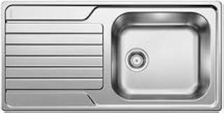 Blanco DINAS XL 6S RV mU ohne Bohrung ohne Ablauffernbedienung Farbe: Edelstahl Bürstfinish