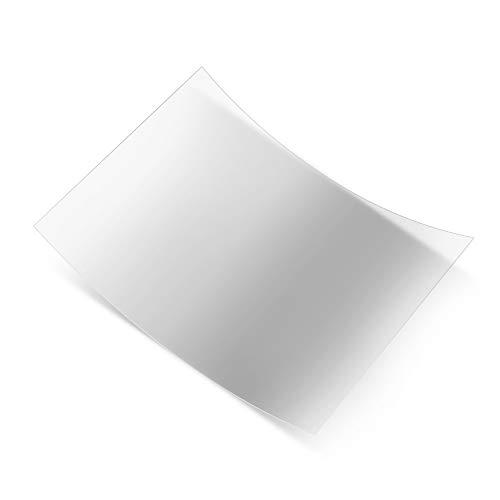 Pellicola antiriflesso Professional Pellicola in FEP trasparente Dimensioni 200 * 150mm Spessore 0,15-0,2mm Trasmittanza luminosa 95{c6047b36e917f3377ebd49970aa561e86678f0527b276a9438330a189ffc7739} per ELEGOO Mars Fotocellula Anycubic CREALITY LD-001 Nova3d