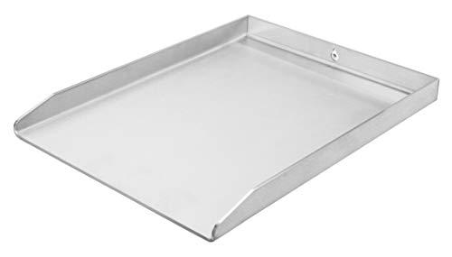 Grillplatte | Plancha | BBQ-Wanne | Grillkorb | Edelstahl | Massiv | hochwertig verarbeitet | Made in Germany | verschieden Größen (40cmx30cm Universal)