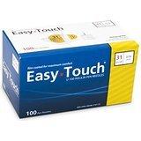 Easy Touch Pen Needles 31 Gauge, 1/4 Inche - 100 Per Box(2-Boxes)