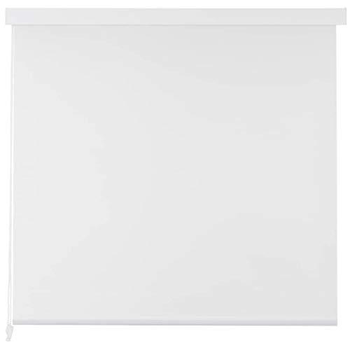 FTVOGUE- Estor Enrollable Blanco, Persiana Enrollable Ducha 80x240 cm