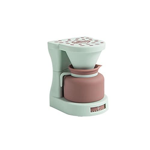 Plastikowa kuchnia ładny timer mechaniczny zegar bez baterii do gotowania ćwiczenia naukę (ekspres do kawy i blendera) (Color : B)