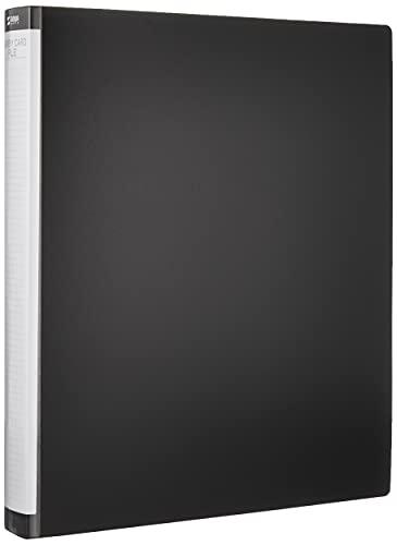 サンワサプライ メモリーカードファイルケース(クリアケース用) A4リングファイル×1・ファイルシート×2セット FC-MMC8BKN