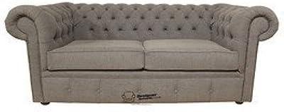 SLAAP Sofa & Chaise - Sofá clásico Chester 2,5 plazas. Beige ...