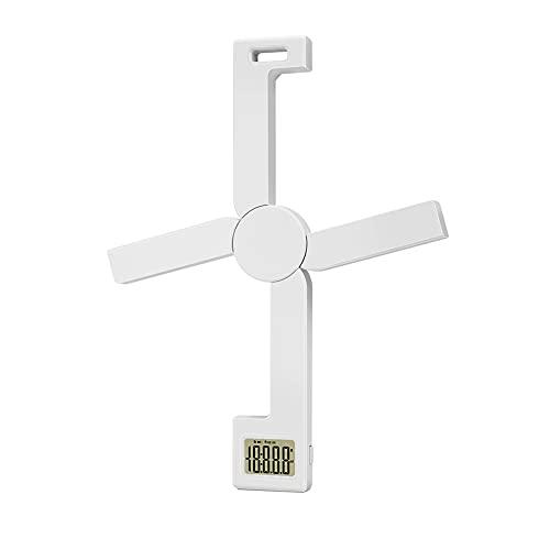 Kaxofang Balance de Cuisine NuméRique Pliante Compacte, Balance Alimentaire Portable Pliable TrèS PréCise avec éCran LCD Facile à Lire, Blanc