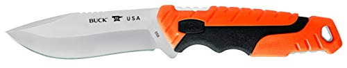 Buck Knives 658 Pursuit Pro Small Fixed Blade Hunting Knife, 3-3/4' S35VN Stainless Steel Blade, Polyester Sheath Included