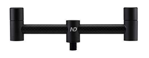 New Direction Tackle 2 Rod Carbon Buzz bar 5.5 inch for Carp Fishing
