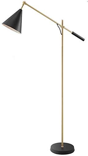 GLXLSBZ Lámpara de pie Ajustable para Sala de Estar/lámpara de Oficina Que se Puede Levantar con luz de Lectura con Detalles de luz Lámpara de pie Moderna