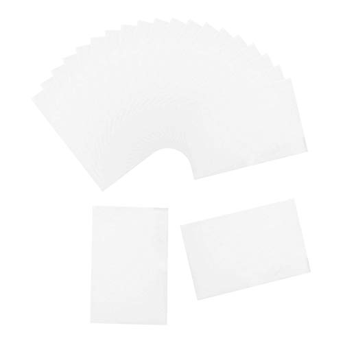 chiwanji 20 Stück Diamond Painting Paper Cover Release Papier, Antihaft Papier, Trennpapier, Anti Rutsch Werkzeuge Klebrige Matte für Diamond Painting - 14x21cm