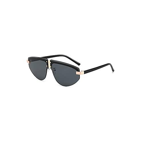 YUZHUKKKPYZ NSMJ - Gafas de sol polarizadas para hombre, polarizador sin marco con lente grande, adecuado para gafas de sol de hombre, marco de metal, adecuado para viajes, conducción, compras