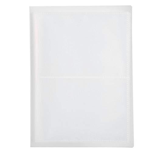 Album de décalcomanies pour autocollants, 20 pages, Nail Art Stamp Plate Plate Etui vide pour organisateur Album 20 feuilles contient des autocollants